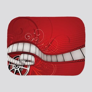 FILM REEL Burp Cloth